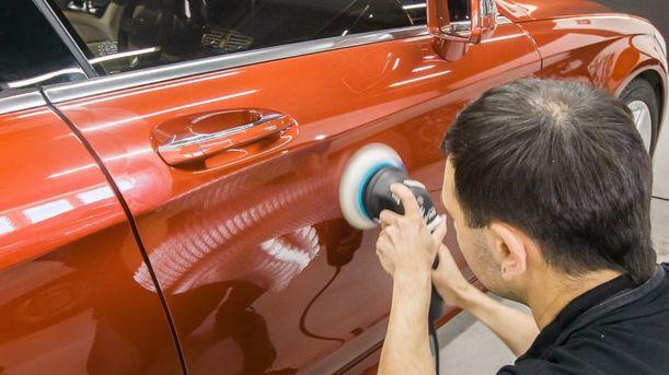 Покраска сколов на авто своими руками 22